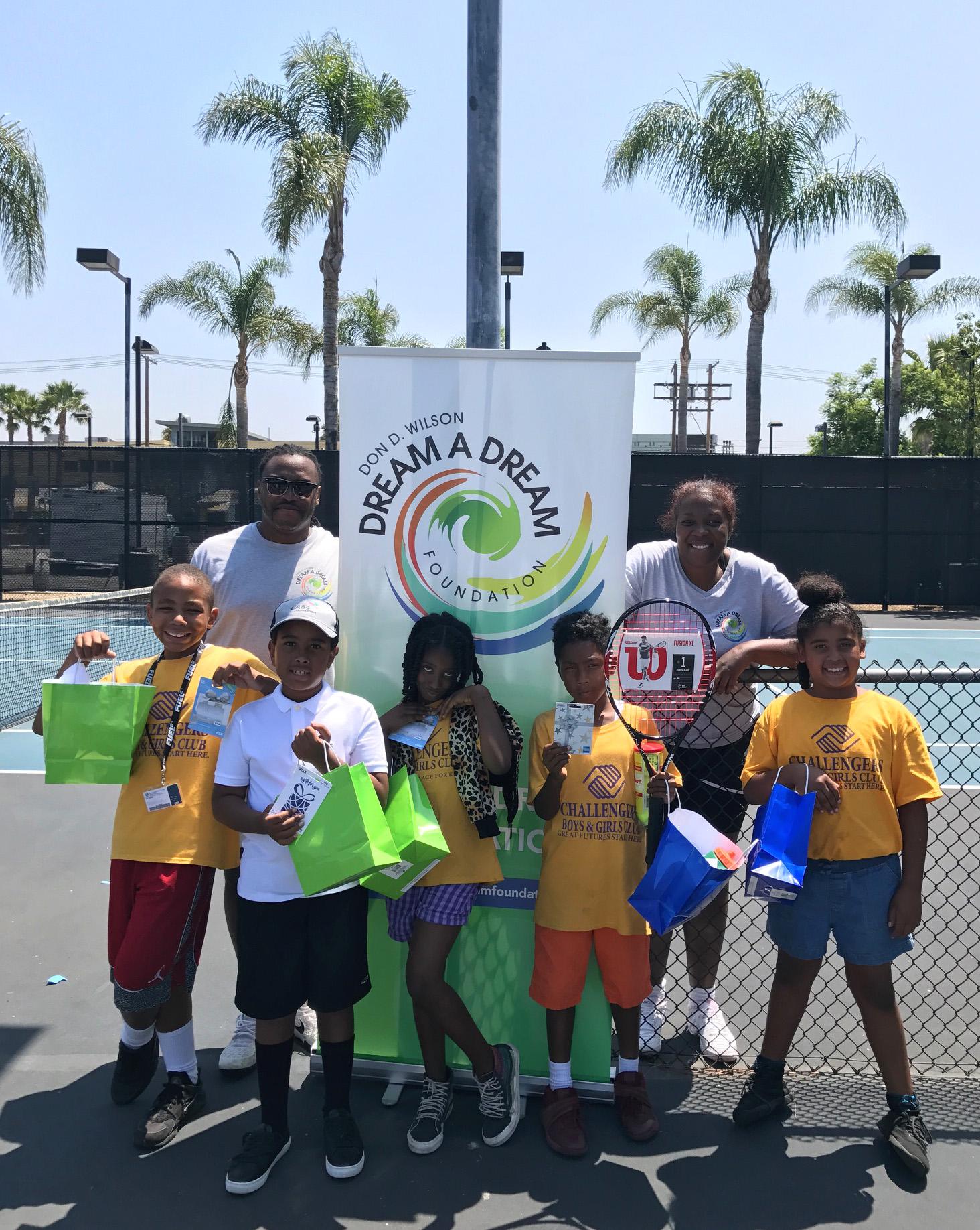 D.A.D. Tennis Clinic BGCLA