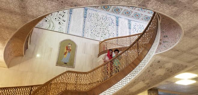 Hotel Abbasi in Isfahan.
