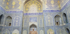 Royal mosque of Shah Abbas in Isfahan.