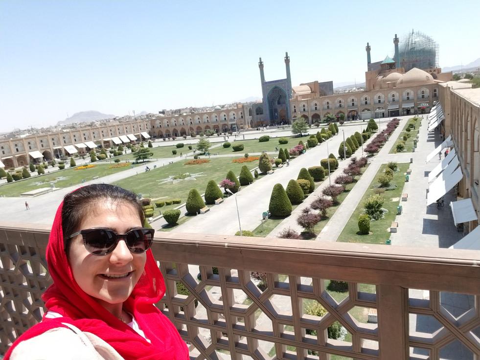 """""""Naqsh-e Jahan Square"""" in Isfahan."""