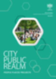 Cover page of the City of London Public Realm Strategy