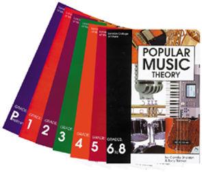 Popular Music Theory Grade Books