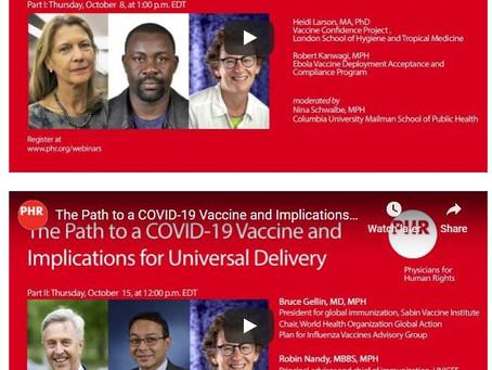 The Path to a COVID-19 Vaccine