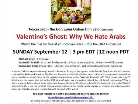 Waleed Mahdi on Valentino's Ghost