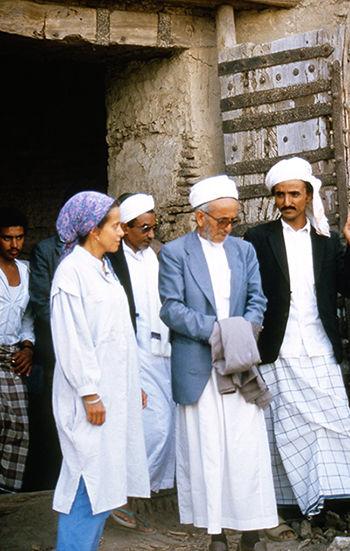 Noha-Sadek-with-Qadi-Ismail-al-Akwa-in-Z