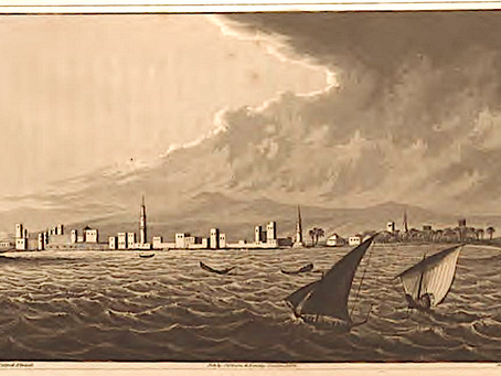 Lady Elwood in Hodeidah in 1825