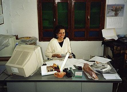 Noha-Sadek-in-AIYS-office-in-Bayt-al-Sam