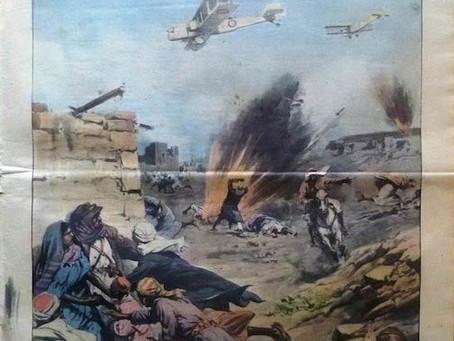 British bombing near Aden in 1937