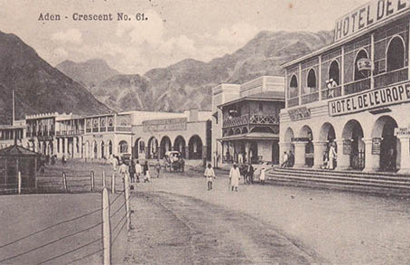 Aden in Old Postcards