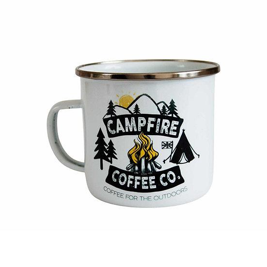 CAMPFIRE COFFEE CO. ENAMEL MUG