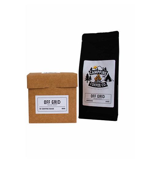 SUBSCRIPTION BUNDLE - GROUND COFFEE & COFFEE BAGS