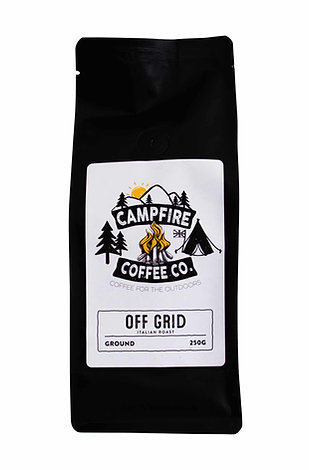 GROUND COFFEE - Off Grid