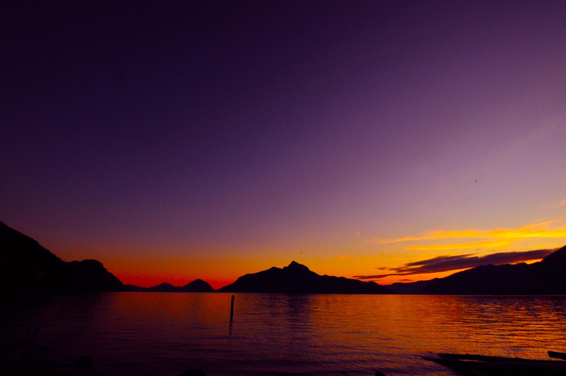 Amaziqng Lake in British Columbia