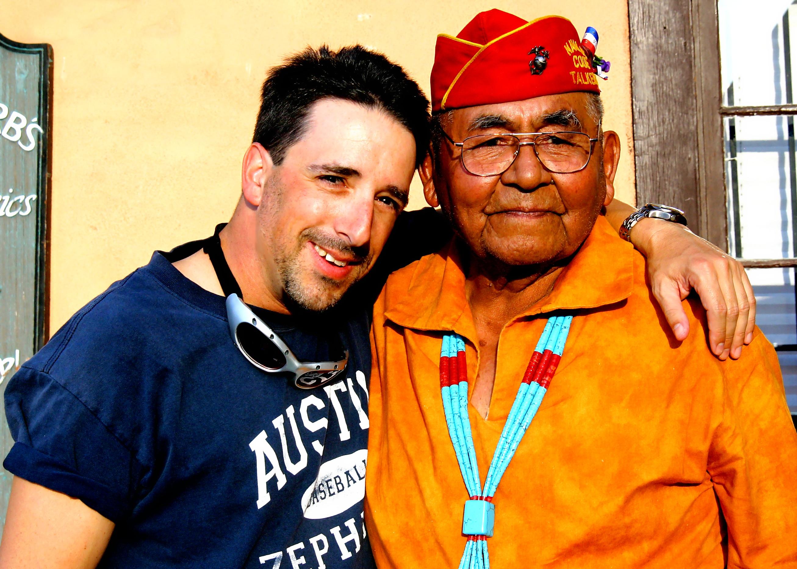 Me and Navajo Code Breaker