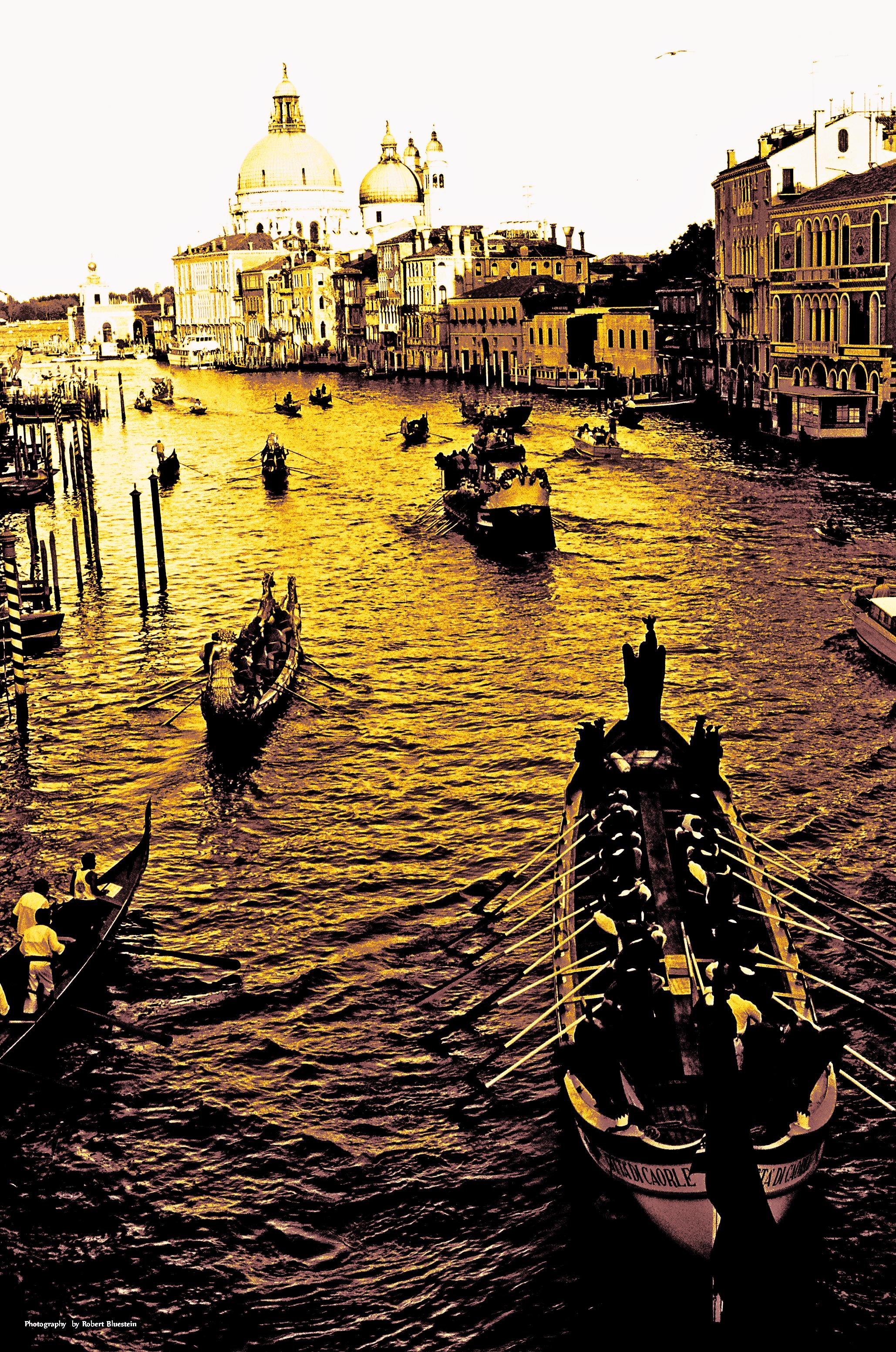 Venice Infrared Sepia Regatta1