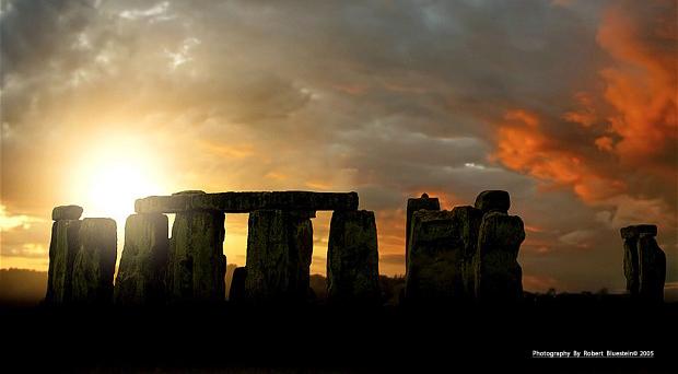 Stonehenge Signed