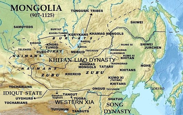 Mongolia (907-1125)