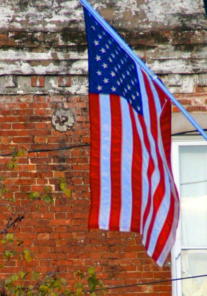 american flag us steel in alabama