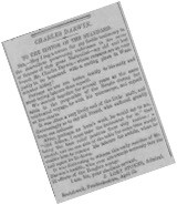 Newspaper of Darwin's Exploits