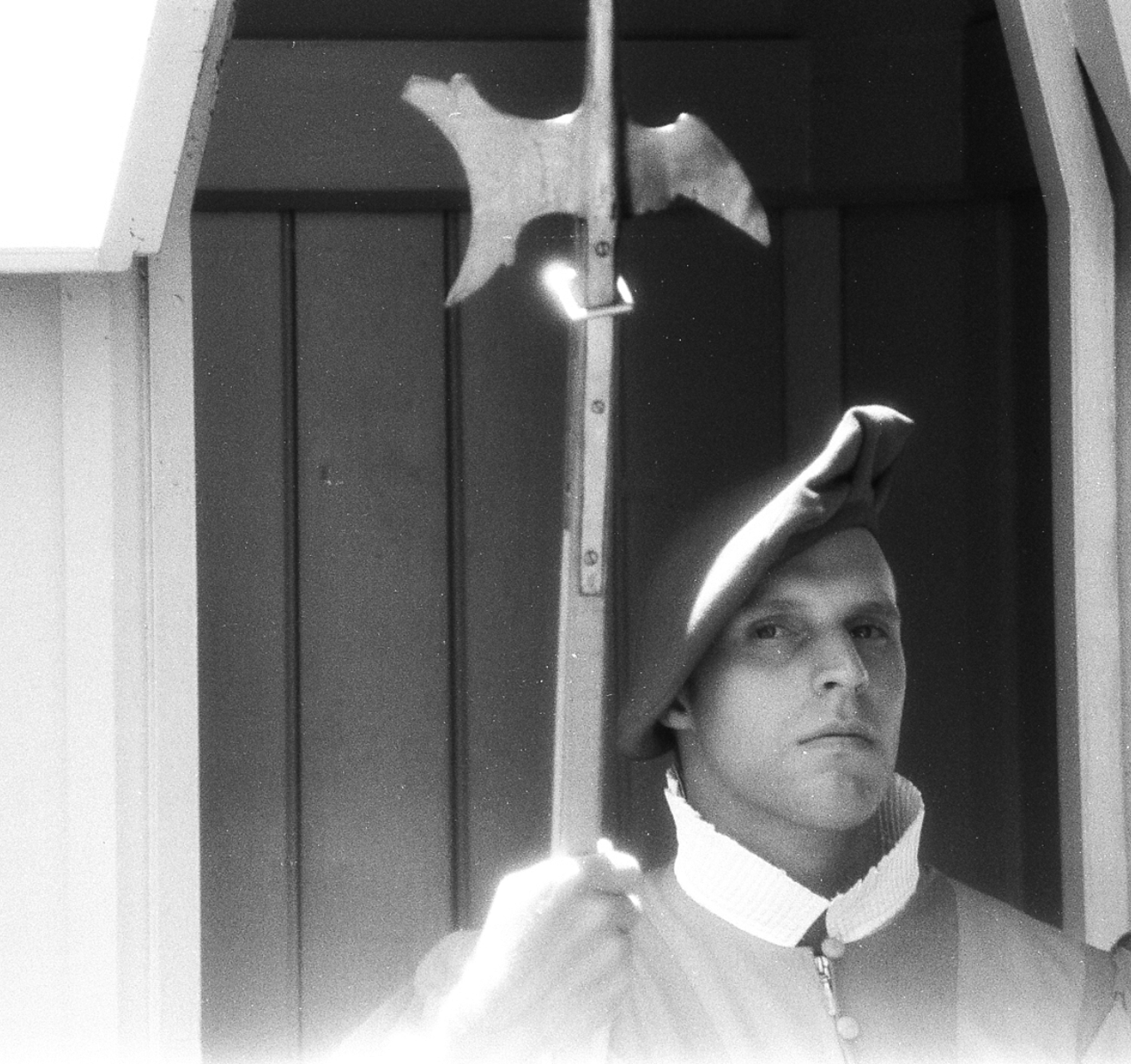 Rome-Papal Guard Infrared