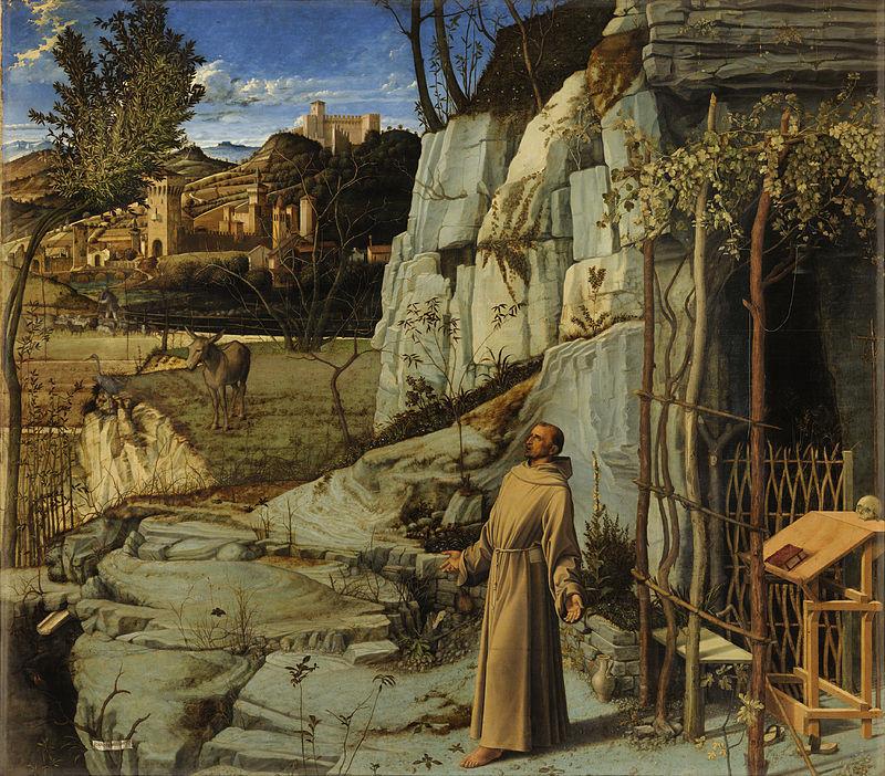 Bellini's ''St. Francis in Ecstasy''