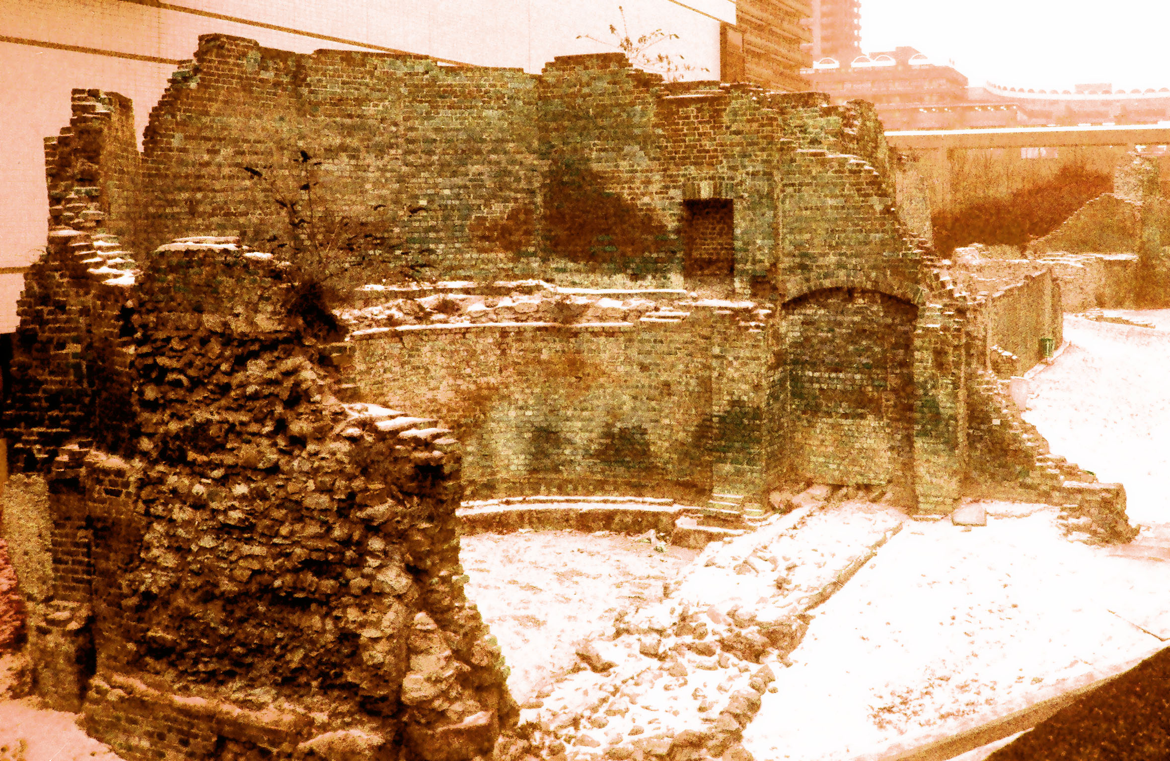London-Roman Walls