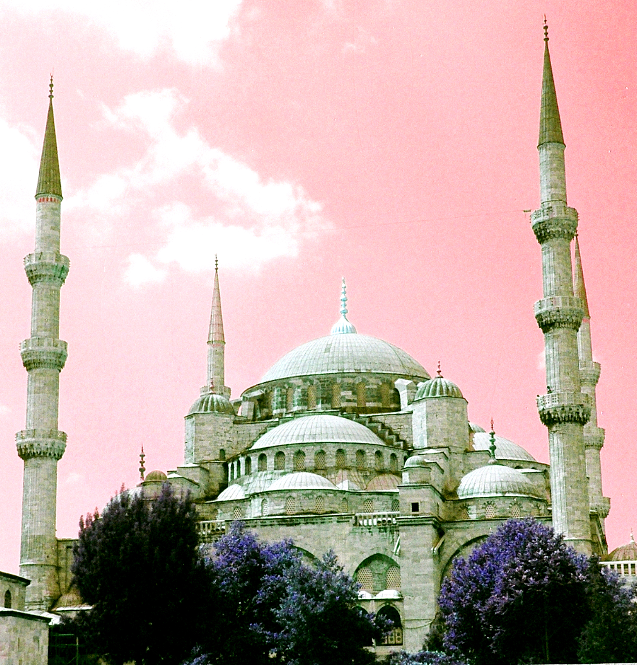 10-Istanbul-Infrared of Blue Mosque