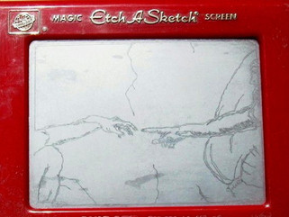 The Age of Artistic Wonder - Through the Medium of the Etch-a-Sketch