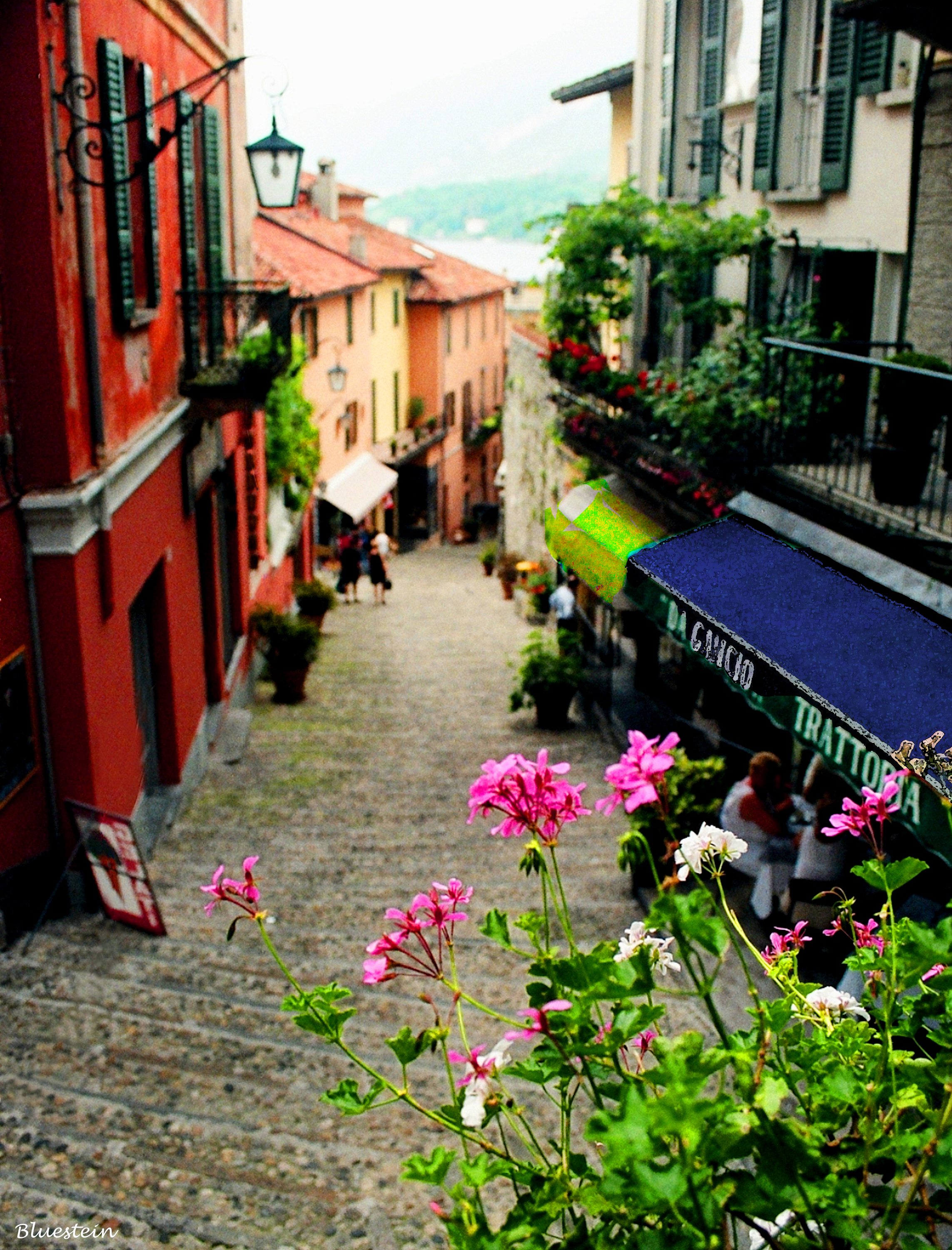 Italy3-Northern Italy Lake Como Town Nice Signed_edited-1