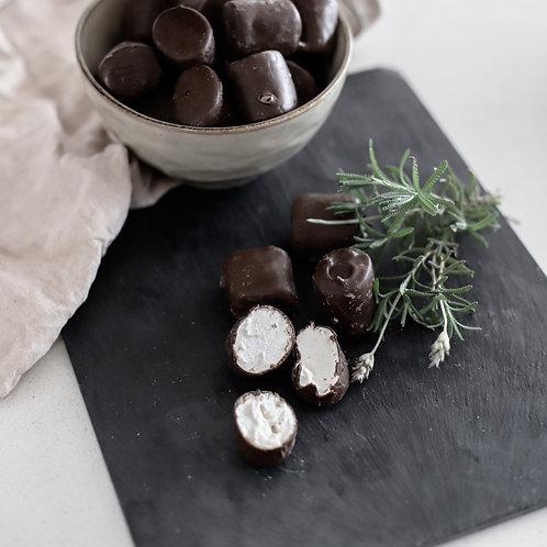 Marshmallows con Chocolate
