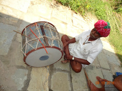 A traditional drummer.JPG