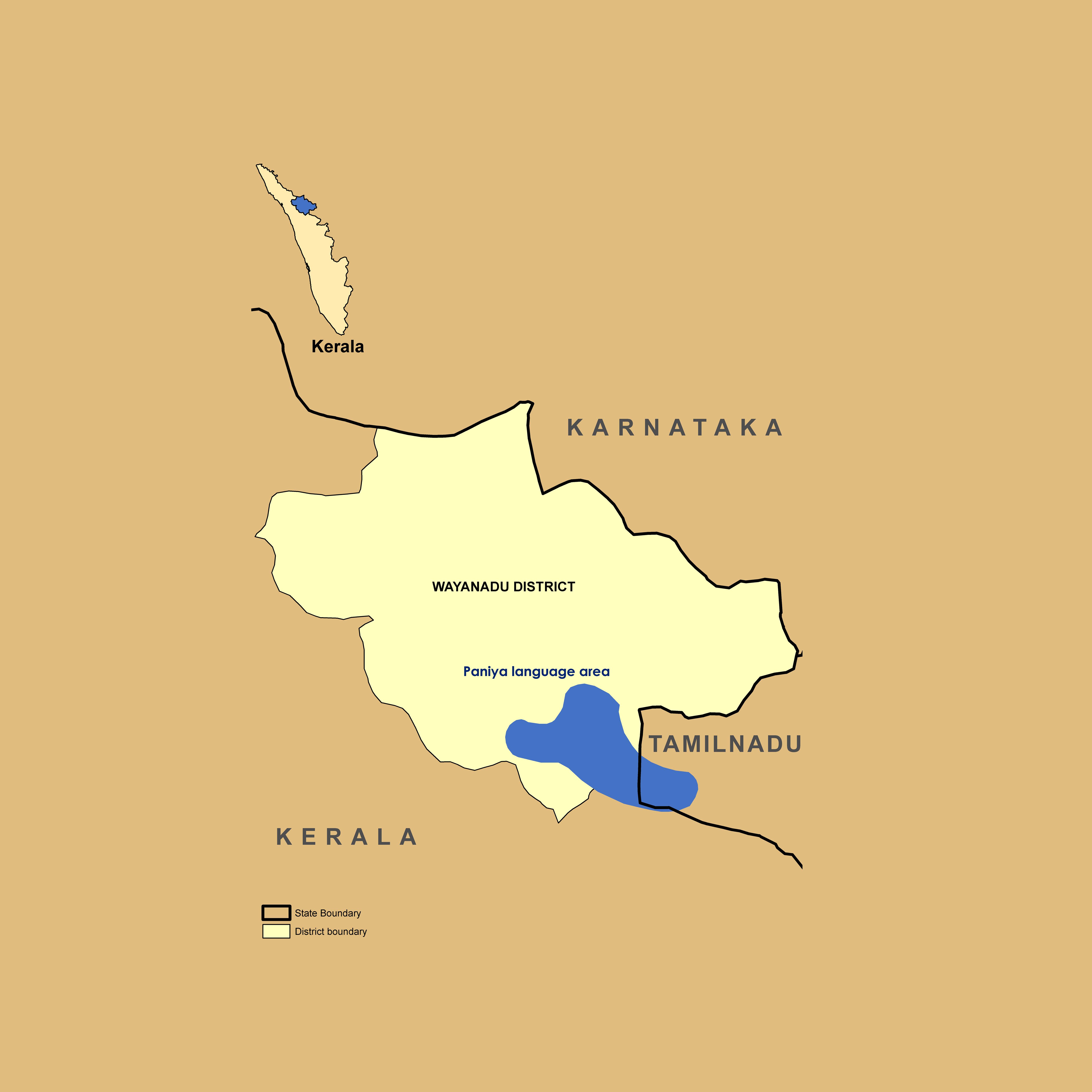 Paniya Regions