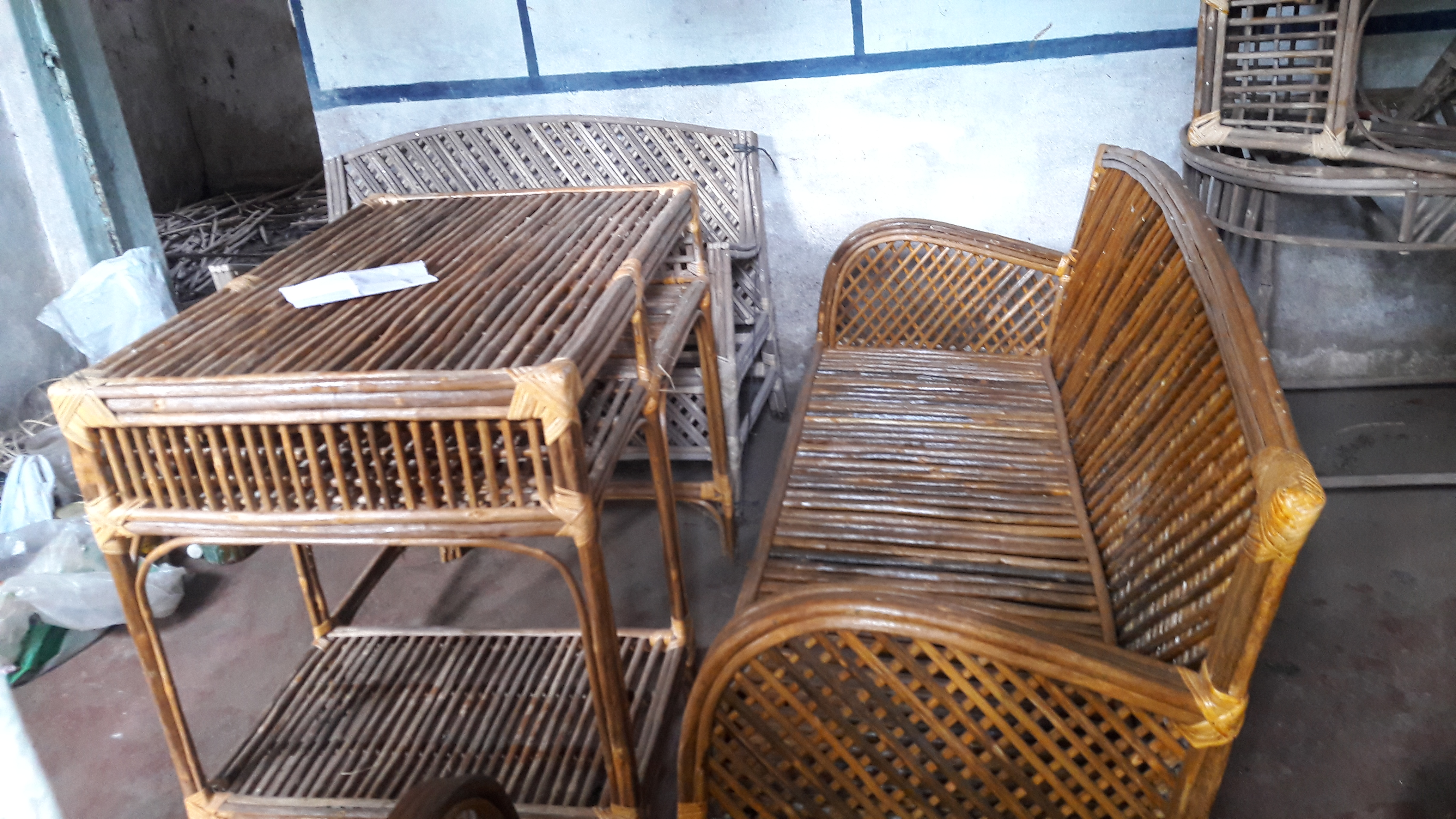 Wicker Furniture Craftsmanship