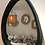 Thumbnail: Miroir bois noir