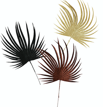 Set de 3 palmiers brillants