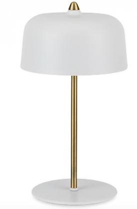 Lampe Ernest blanche