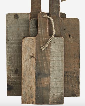 Set de 3 planches en bois
