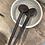 Thumbnail: Grosse cuillère déco en bois recyclé