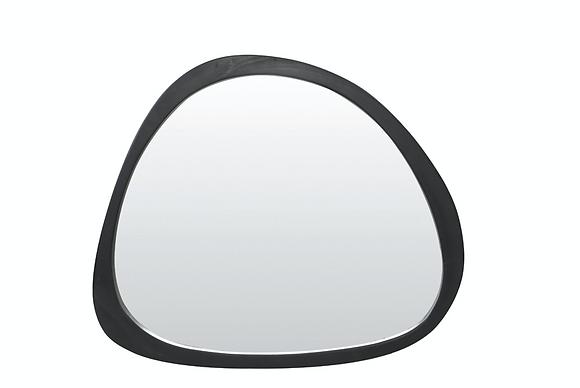 Miroir bois noir