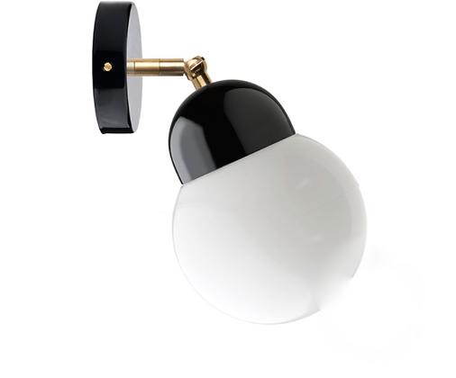 Lampe en porcelaine et métal