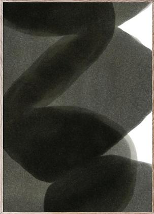 Affiche enso black II 50x70cm