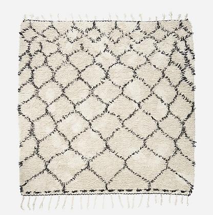 Tapis coton 180x180cm