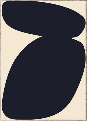 Affiche solid shapes III