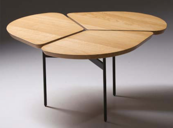 Table basse Trèfle