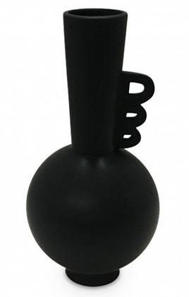 Vase céramique Ada noir