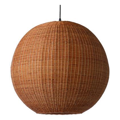 Suspension ronde bambou