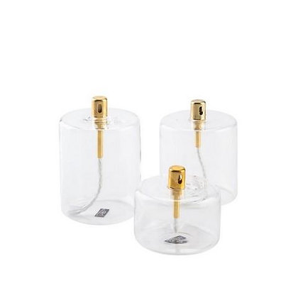 Lampe a huile cylindre