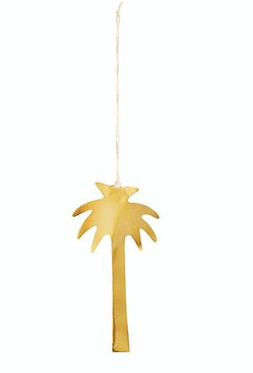Palmier en laiton