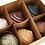 Thumbnail: Boule de noël toupie set de 6 couleurs
