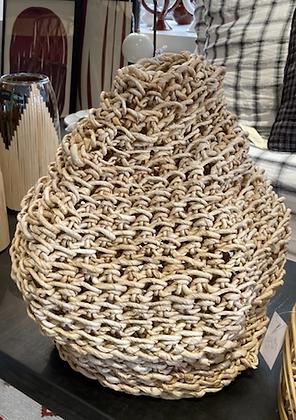 Vase en papier mâché